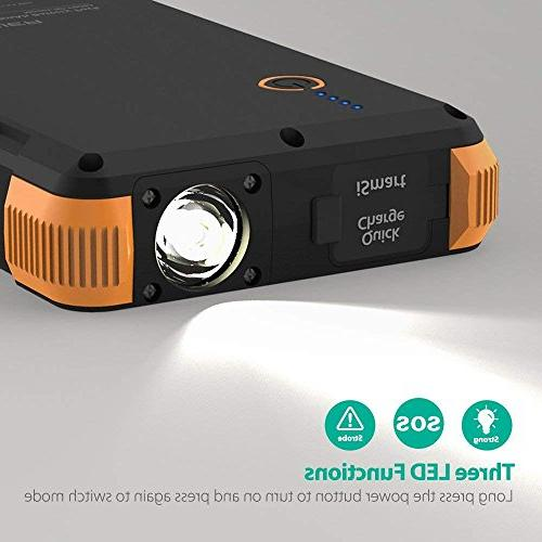 Solar 25000mAh Outdoor Power with Pack for