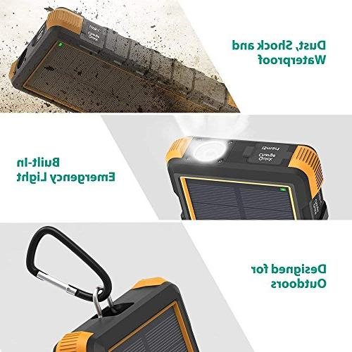 25000mAh Portable Power Bank C Battery Pack for Outdoor