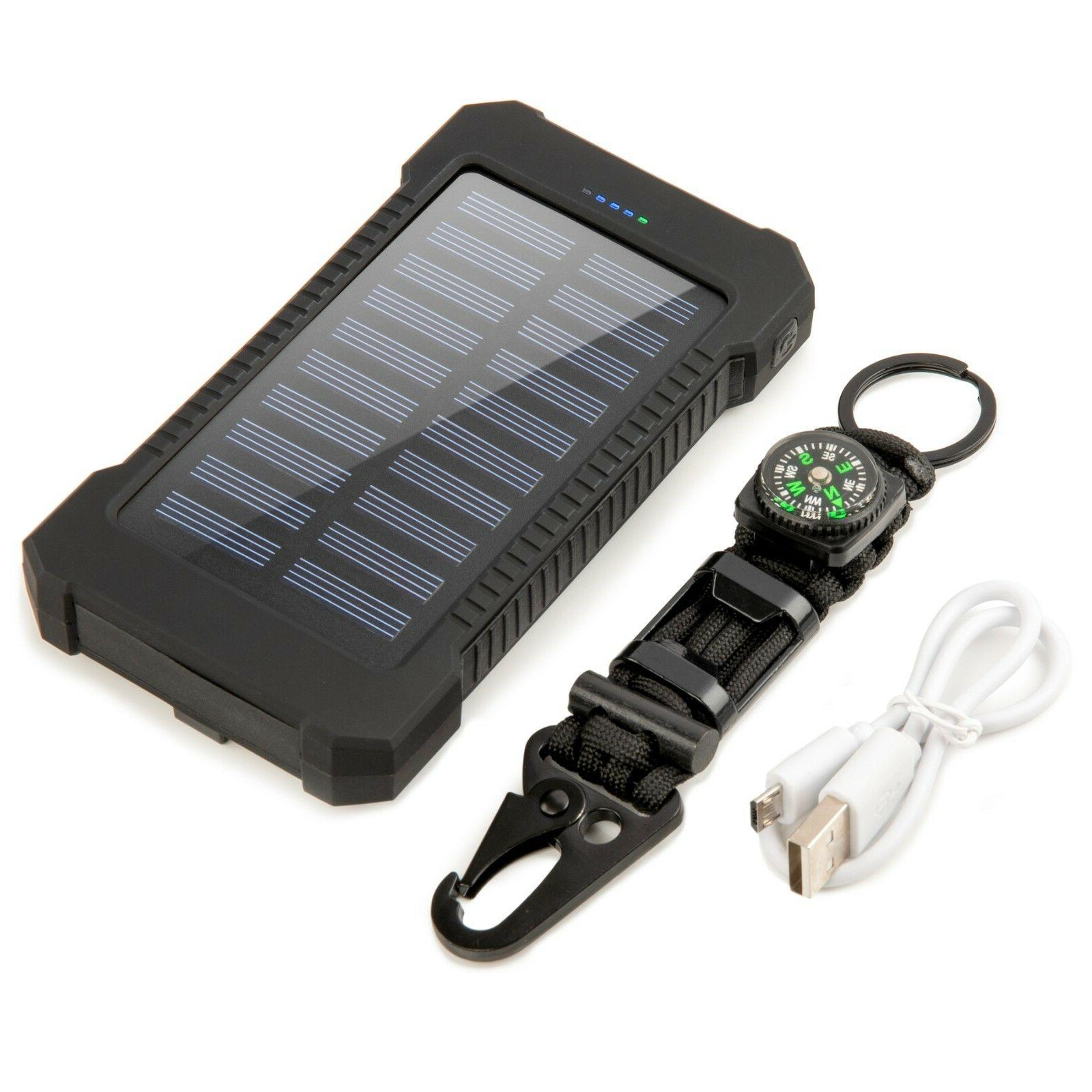Solar Power Dual Battery Backpack