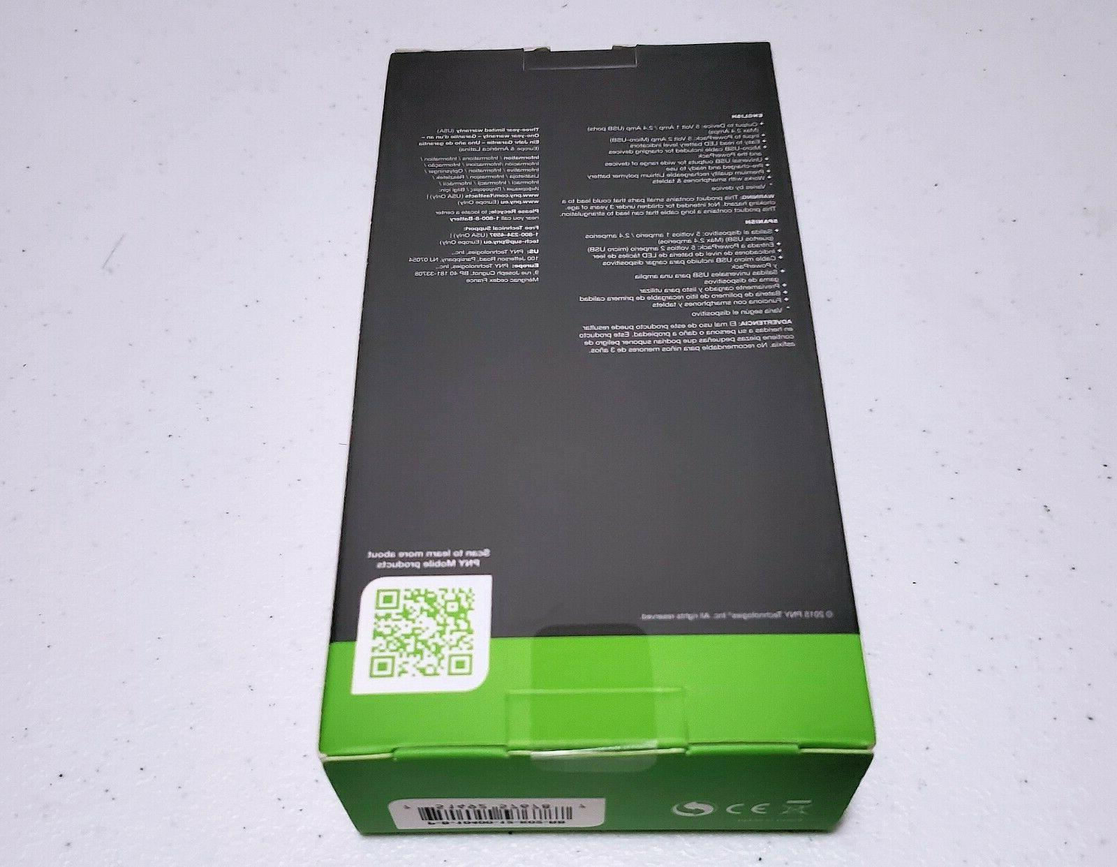 PNY Power Bank T10400 lithium-ion battery