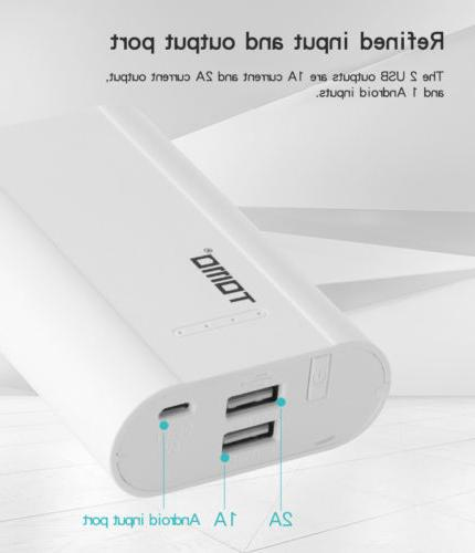 TOMO P3 DC5V-2A Smart Power Bank Charger Case USB