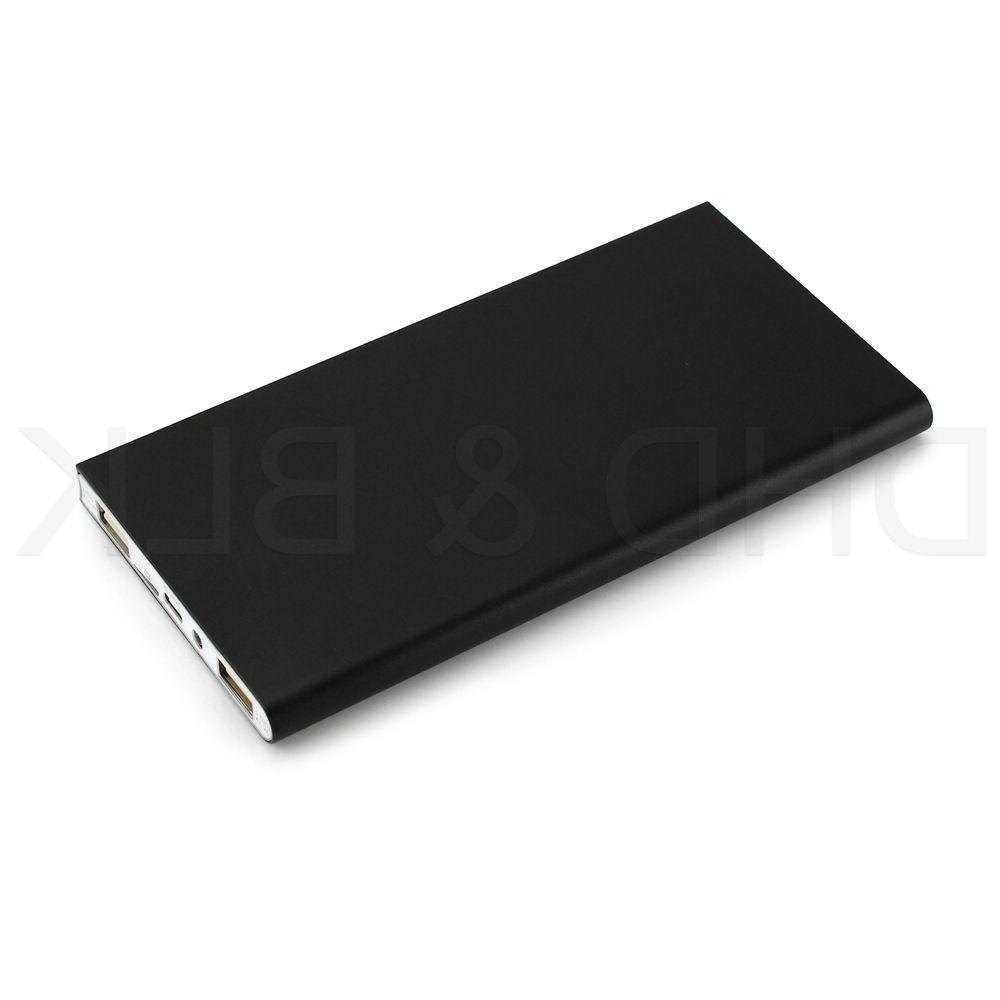Ultra Thin Portable External Battery Bank for