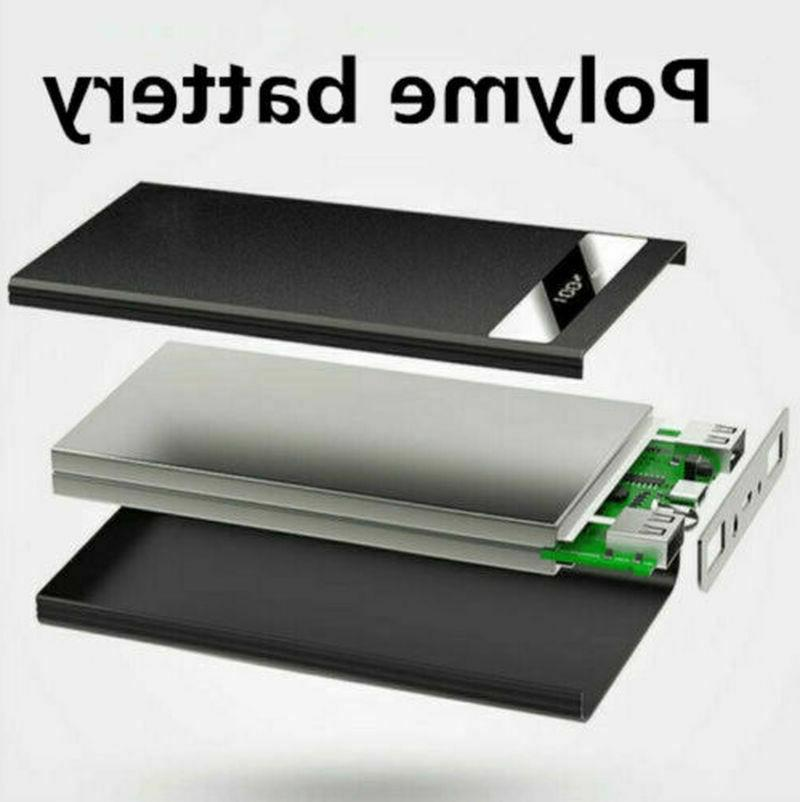 Ultra-thin Bank Battery Charger