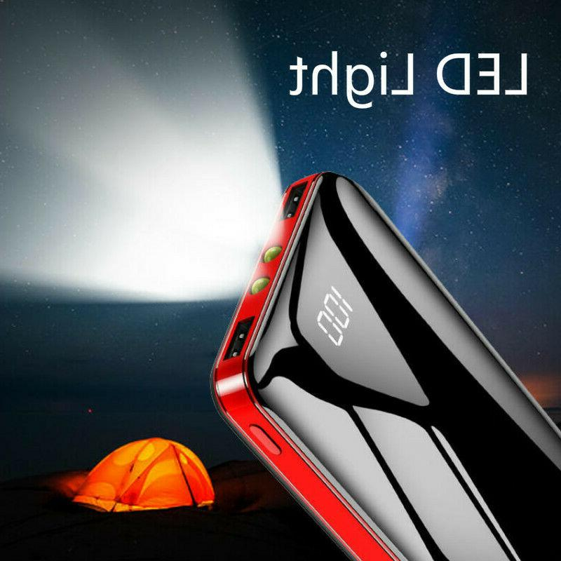 Portable Power Bank 900000mAh Universal Charger for