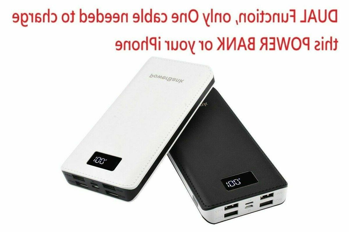 USA 900000mah Power Bank LED Mobile Phone