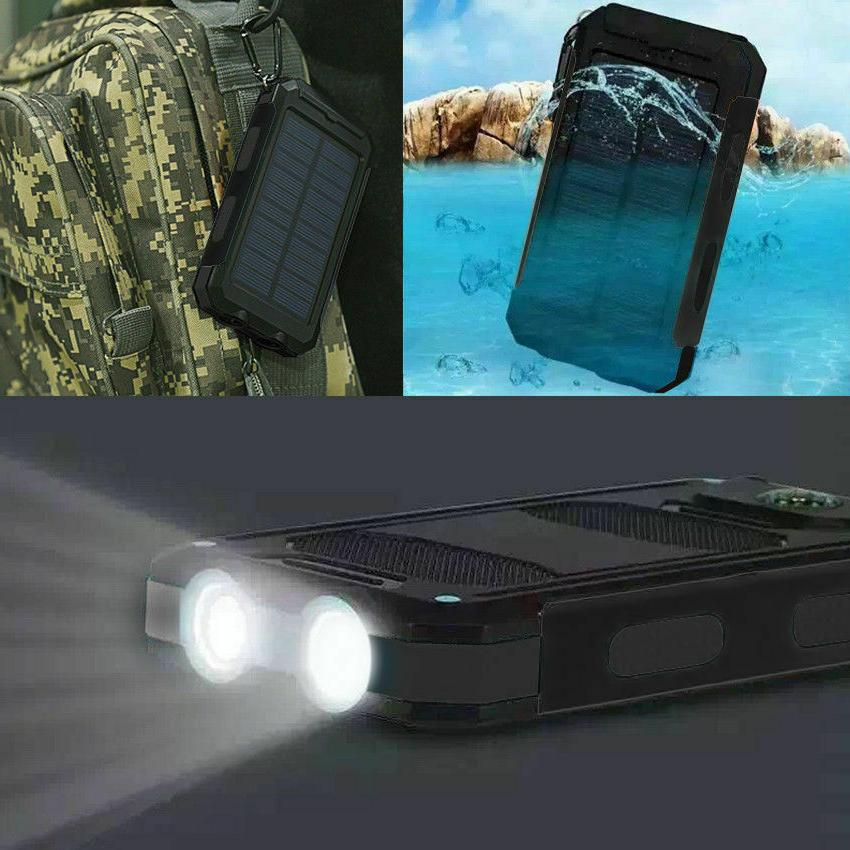 Waterproof Portable Solar Power Charger