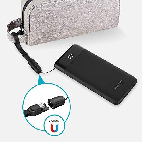 USB Power Bank PD 10400mAh Charger, Slim 10000 Charger Power & Charge 3.0 Compatible 2, S8