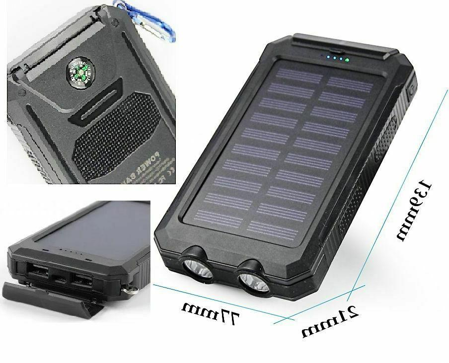 Waterproof USB Portable Solar Charger Lighte For