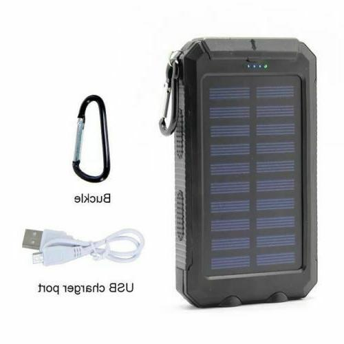 Waterproof Portable Solar Power Charger For