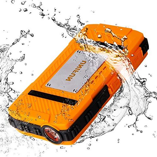 Unifun Waterproof Battery Power Bank and Tablets, Smartphones and Devices