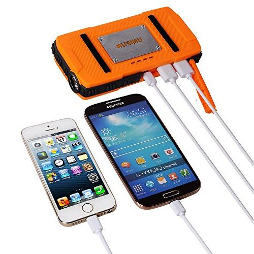 Battery Power Charger with LED and Hole Tablets, Smartphones and Devices