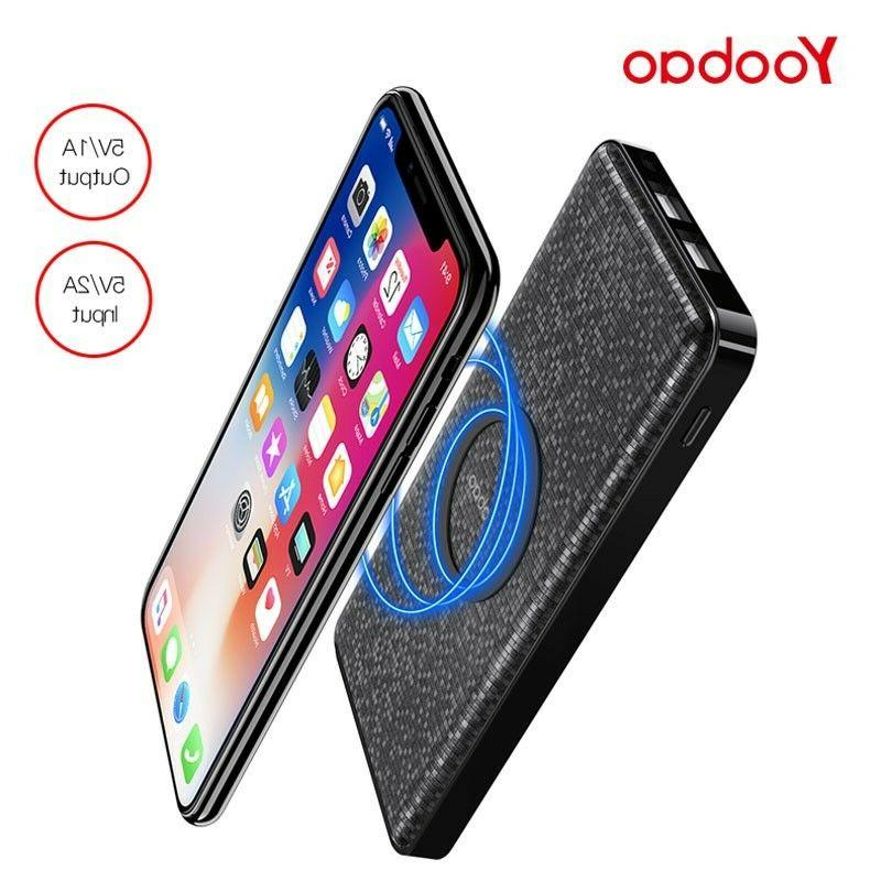 Yoobao Wireless Charger Portable USB Power BankW5