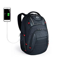 Laptop Backpack,Swissdigital Busniess Travel Polyester Backp