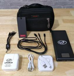 TUMI Luggage Accessories Pouch with 13000mAh power bank and