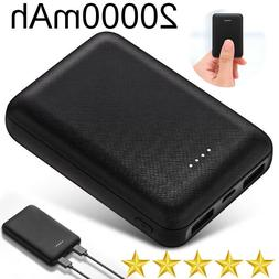 Mini 20000mAh Slim 2USB Portable Battery Charger Mobile Powe