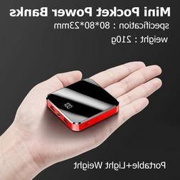 Mini Power Bank 100000mah iPhone & Android 4 Ports Fast 2.1a