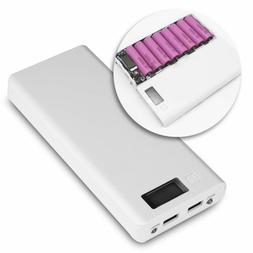 For Mobile Phone External USB Power Bank Case Fashion 18650