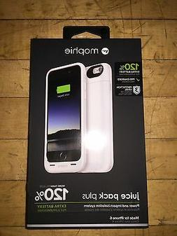 NEW WHITE MOPHIE JUICE PACK PLUS EXTERNAL BATTERY CASE FOR A
