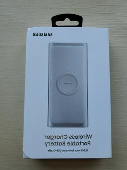 NEW SAMSUNG WIRELESS CHARGER PORTABLE BATTERY 10000 mAh POWE