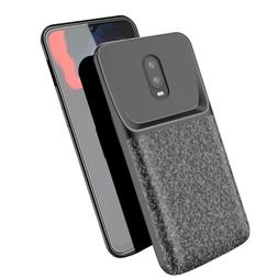 Oneplus 6t power case Silicone Shockproof battery case slim