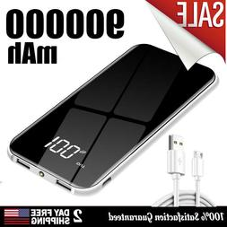 pack charger 900000mah power bank portable 2