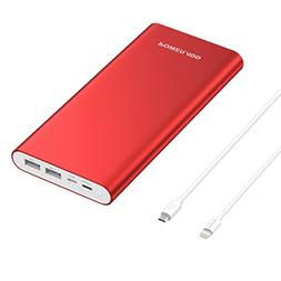 POWERADD Pilot 4GS Plus 20000mAh Portable Charger, 8-Pin & M