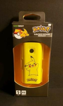 ThinkGeek Pokemon Pikachu Portable USB Charger Power Bank 52