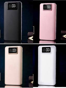 portable 50000mah lcd power bank external 2