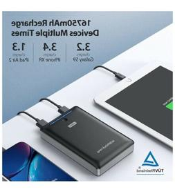 RAVPower Portable Charger 16750mAh Deluxe External Battery P