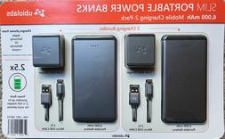 Portable Charger, Ubio Labs Slim 6,000 mAh High Capacity Pow