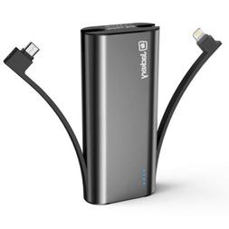 Portable Charger Jackery Bolt 6000 mAh -Power bank with buil