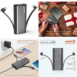Portable Charger Power Bank Accessory For Apple Iphone 6 7 8