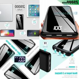 Portable Charger Power Bank 25000mAh - High Capacity with LC