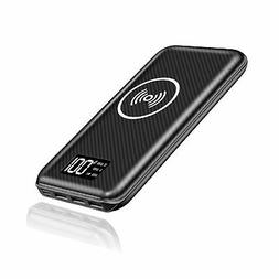 KEDRON Portable Charger Power Bank 24000mAh Wireless Charger