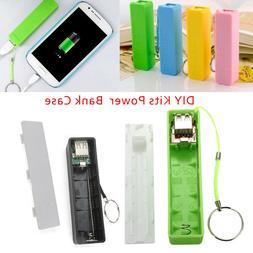 Portable DIY Power Bank 18650 Battery Charger Case Box for M