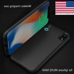 Battery case for iphone xs max Portable wireless Charger Pow