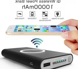 Portable Mini Power Bank Qi Wireless Charging Battery Phone