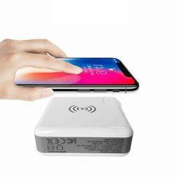 20000mAh Qi Wireless Fast Charging Power Bank Portable Batte