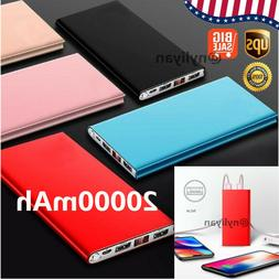 US Slim 50000/20000mAh Power Bank LED Digita Display Externa