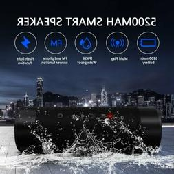 Portable Wireless Bluetooth Speaker Waterproof Power Bank Ba