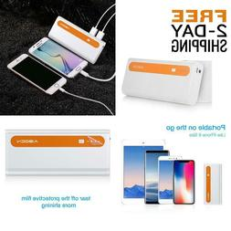 Aibocn Power Bank 10,000Mah External Battery Charger Dual Us