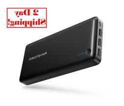 Power Bank RAVPower 26800 Portable Charger 26800mAh Total 5.