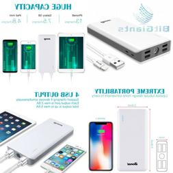 Power Bank 30000mAh, BONAI  5.6A Output...