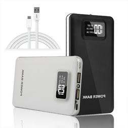 Power Bank 50000mAh Portable Dual USB LED LCD External Backu