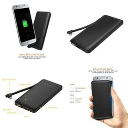 EasyAcc Power Bank 6000mAh Portable Charger with Built-in Mi