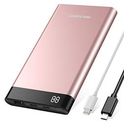 POWERADD 10000mAh Power Bank with 8 Pin Input  Portable Char
