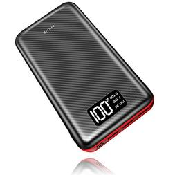 Power Bank Portable Charger- 24000mAh High Capacity with Dig