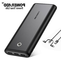26800mAh PD3.0 Power Bank Type-C Portable Charger Cell Phone