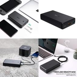 Power Delivery Bank 30W USB C 30000Mah Quick Charge 3.0 Port