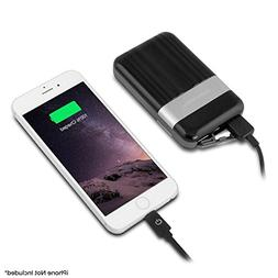 Powerocks 9000 mAh Power Pack w/ Lightning Cable & Device Cl